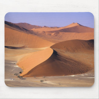 Namibia: Sossuvlei Dunes, Aerial scenic. Mouse Pad