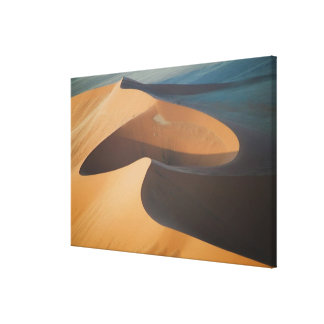 Namibia, Soussevlei, Great Red Sand Dunes, Canvas Print