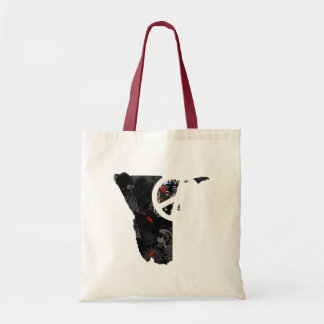 Namibia Trendy Peace Sign with Nambian map Bag