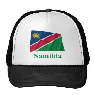 Namibia Waving Flag with Name Cap