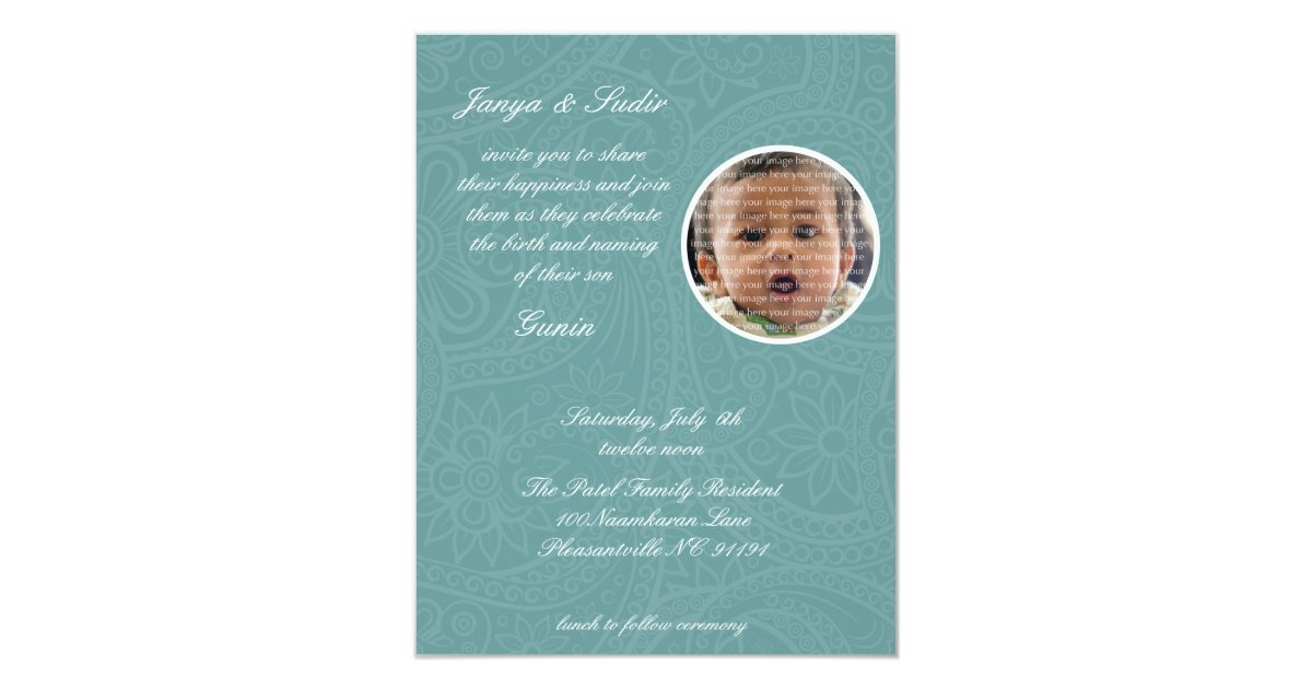 Namkaran Baby Naming Invitations   Zazzle.co.uk