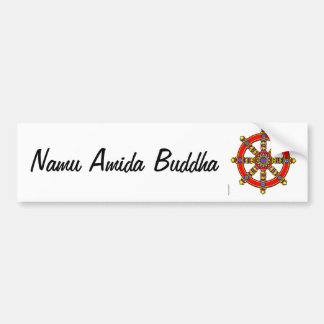 Namu Amida Buddha Bumper Sticker Car Bumper Sticker