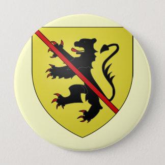 Namur Arms, Belgium 10 Cm Round Badge