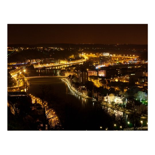 Namur by Night Postcard