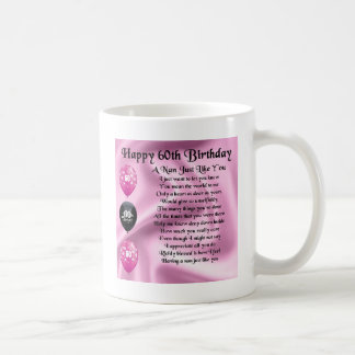 Nan Poem  -  60th Birthday Coffee Mug