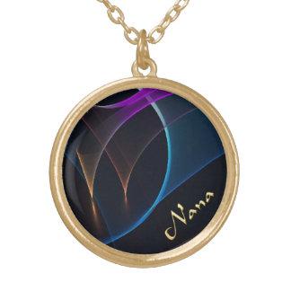 Nana Abstract Veils  Design Necklace