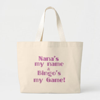 Nana and Bingo Large Tote Bag