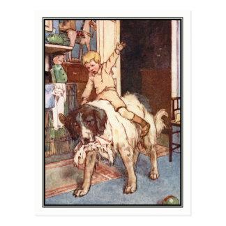 Nana and Michael Darling by Alice B. Woodward Postcard