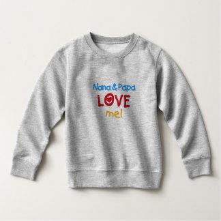 Nana and Papa Love Me Tee Shirt