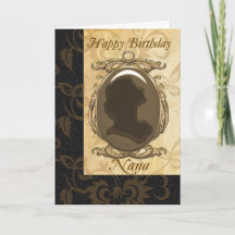 Nana Birthday Greeting Cards, Nana Birthday Note Cards