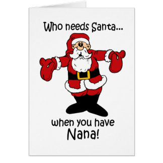 Nana Christmas card