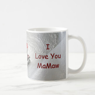 Nana Christmas - I Love You Penguin Coffee Mug
