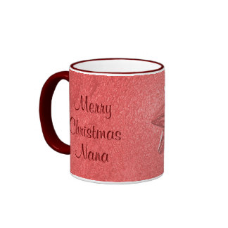 Nana Christmas Love Ringer Mug