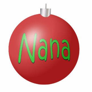 Nana Christmas Ornament Photo Sculpture Decoration