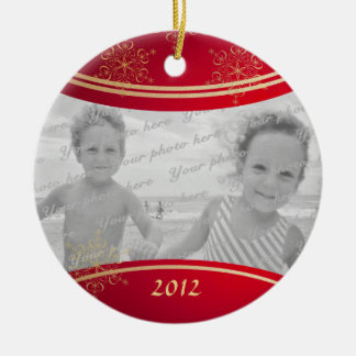 Nana Christmas Photo Frame Ornament
