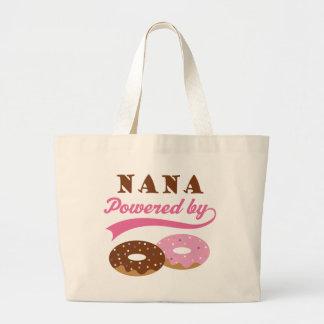 Nana Gift (Donuts) Large Tote Bag