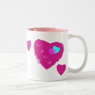Nana Hearts Mug Mug