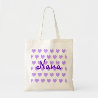 Nana in Purple Budget Tote Bag