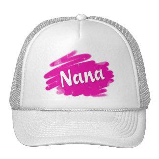 Nana Loves Pink Mesh Hat