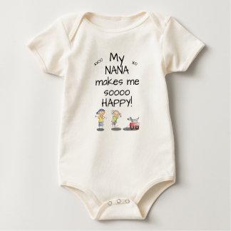 Nana Makes Me Sooo Happy Baby Bodysuit