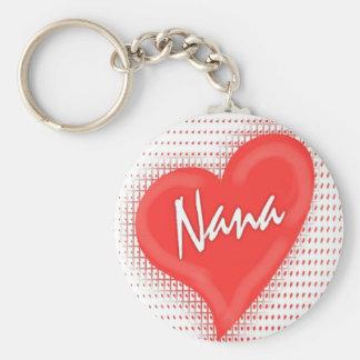 Nana`s Heart Key Ring