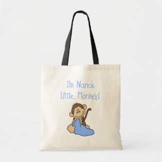 Nana s Little Monkey - Blue Tshirts and Gifts Bags