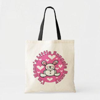 Nana s Little Snuggle Bunny Canvas Bags