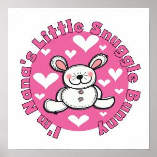 Nana s Little Snuggle Bunny Posters