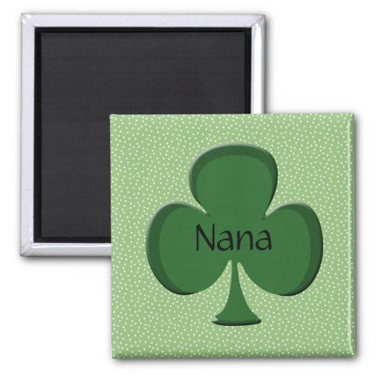 Nana Shamrock Name Magnet