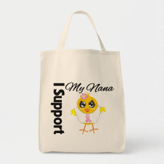 Nana Support Breast Cancer Canvas Bags