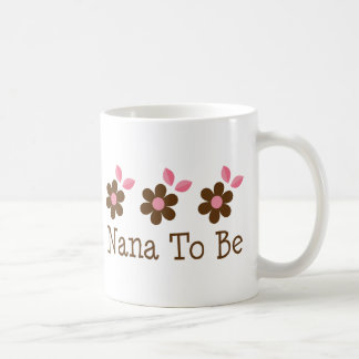 Nana To Be Basic White Mug