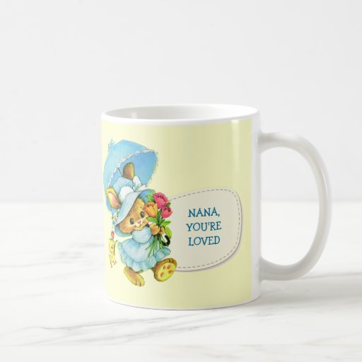 Nana, You're Loved. Mother's Day Gift Mugs