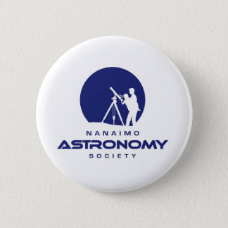 Nanaimo Astronomy Logo Products 6 Cm Round Badge