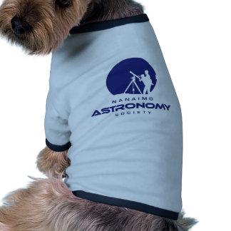 Nanaimo Astronomy Logo Products Ringer Dog Shirt