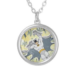 NANANANANANA Batman Graphic Silver Plated Necklace