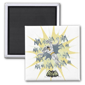 NANANANANANA Batman Graphic Square Magnet