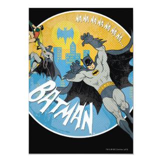 NANANANANANA Batman Icon 13 Cm X 18 Cm Invitation Card
