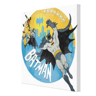 NANANANANANA Batman Icon Canvas Print