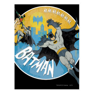 NANANANANANA Batman Icon Postcard