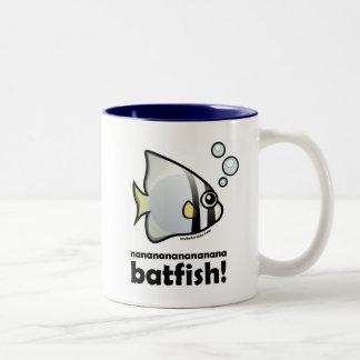 nananananananana Batfish! Two-Tone Coffee Mug