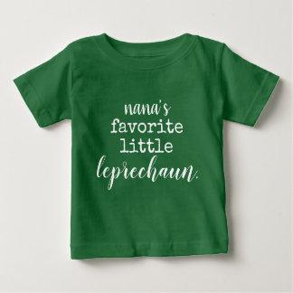 nana's favorite little leprechaun. baby T-Shirt