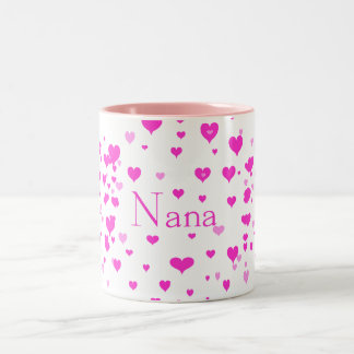 Nana's Hearts around me Mug