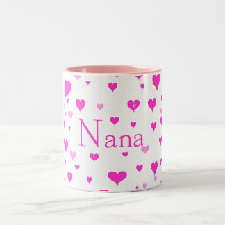 Nana's Hearts around me Mug
