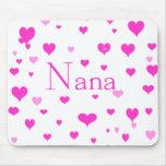 Nana's Hearts Mousepad
