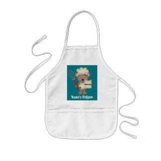 Nana's Helper kids fun Kitchen apron
