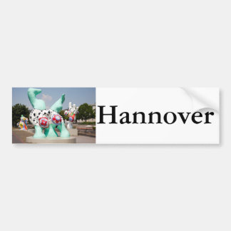 Nanas in Hannover Bumper Sticker
