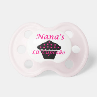 Nana's Lil Cupcake Pacifiers