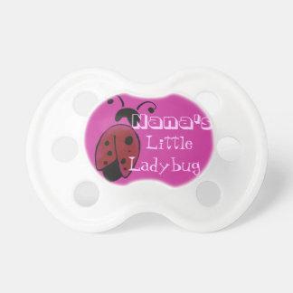 Nana's little ladybug dummy