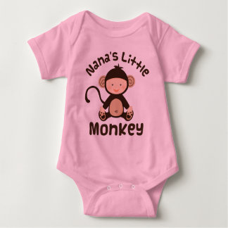 Nanas Little Monkey Baby Bodysuit