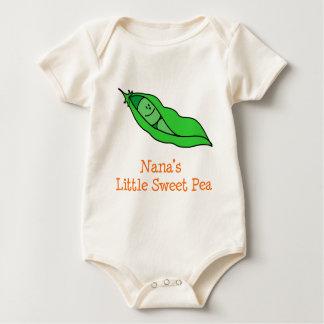 Nana's Little Sweet Pea Baby Bodysuit